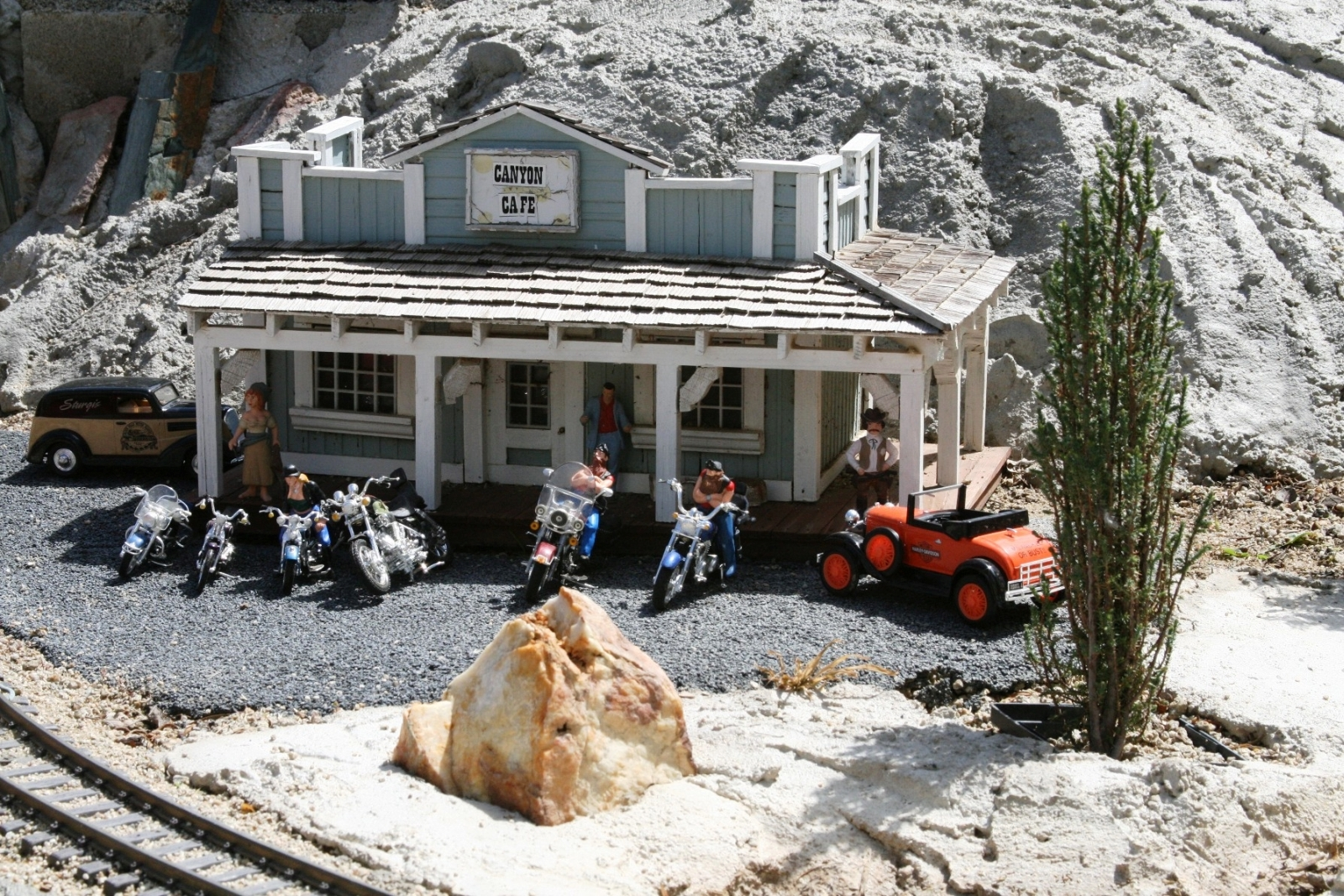 Lizer The Canyon Cafe is a popular biker hangout