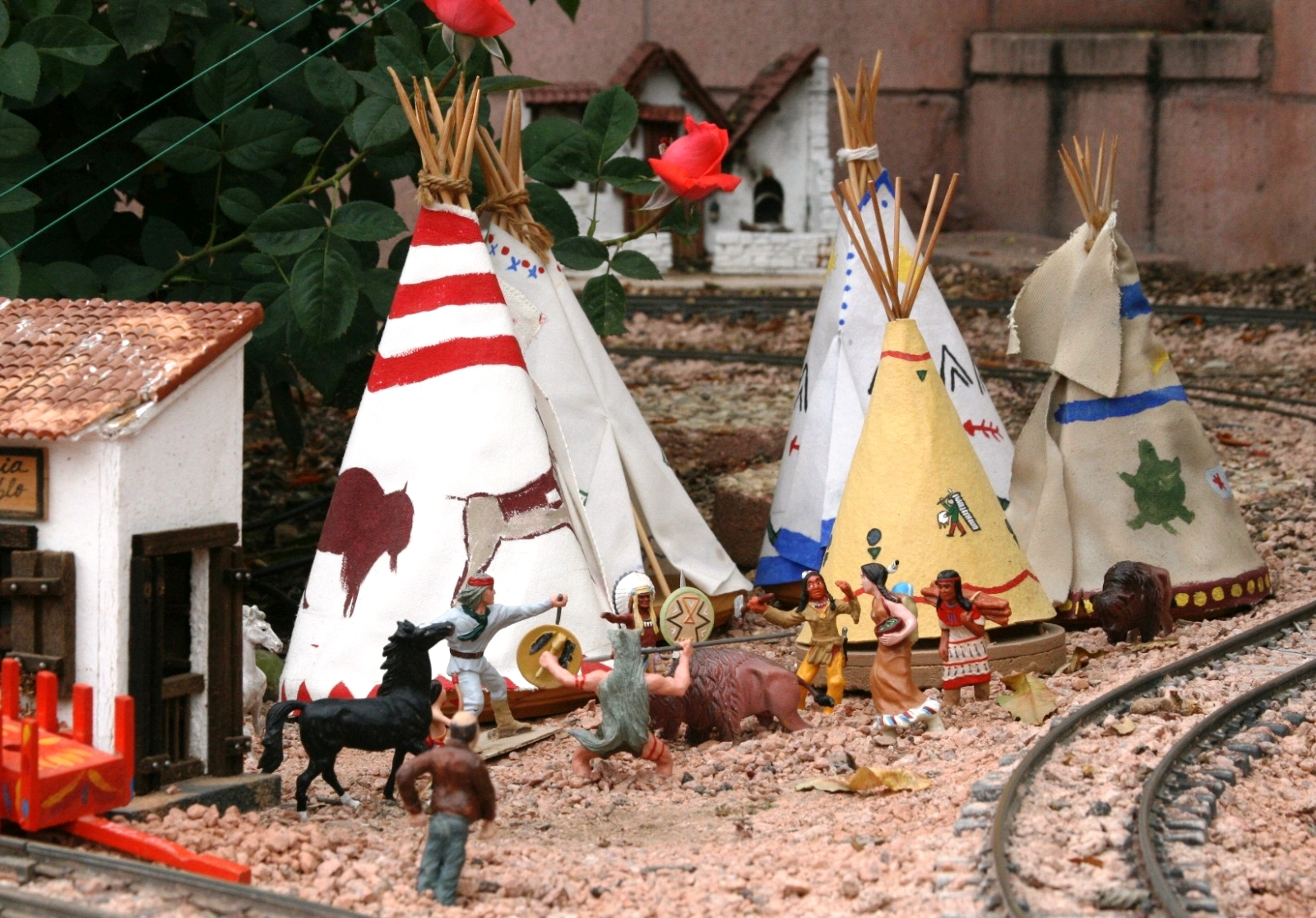 McKinnis These unusual teepees create a great scene!